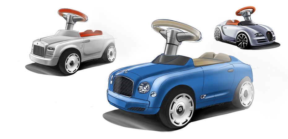 ride on cars | supercreative | Designbüro München | Industriedesign ...