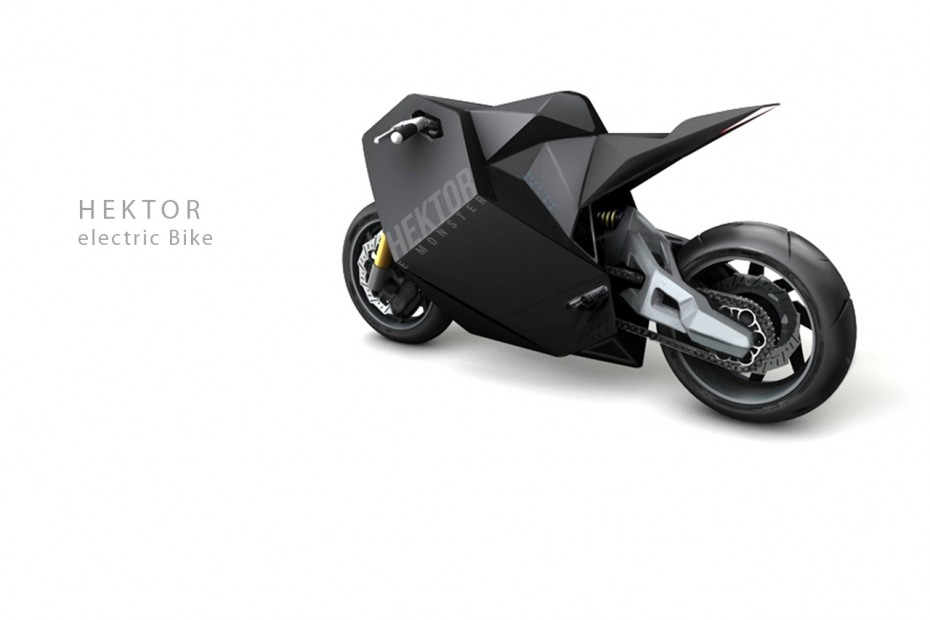 Electric Motorcycle - supercreative