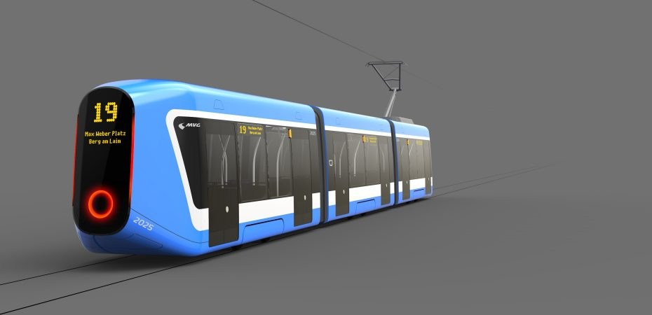transportation design | tram | innovation | render