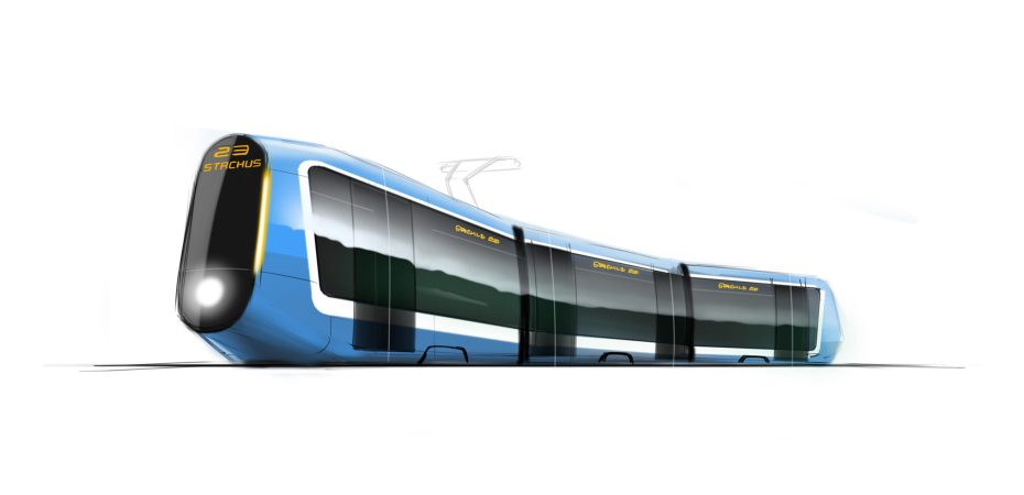 transportation design | tram | innovation | designsketch