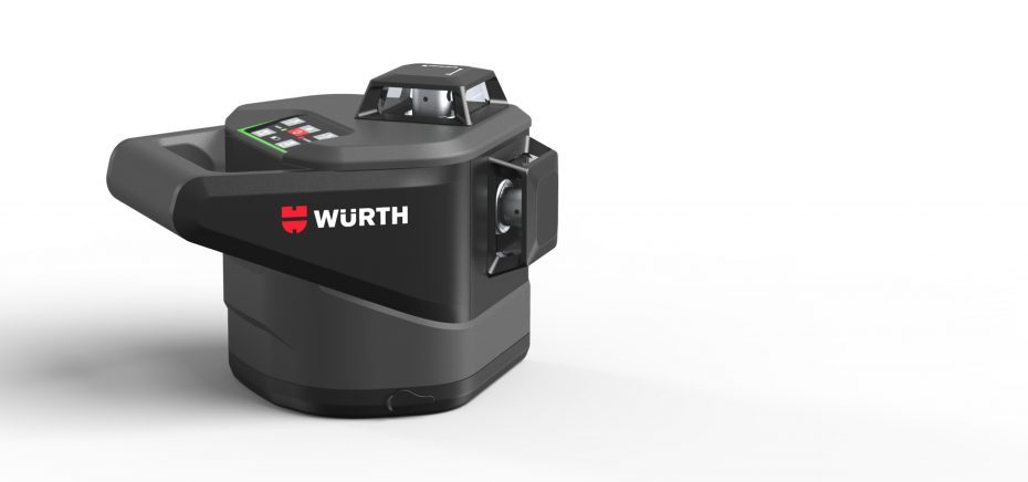 sideview of the würth rotation laser MLLG18