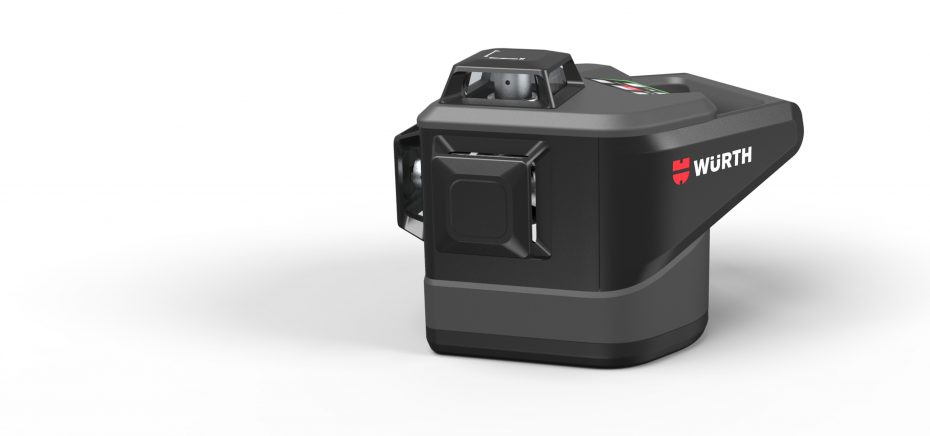 perspective view of the würth rotation laser MLLG18
